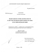 Органы обеспечивающие безопасность рф – Тема 11. Правоохранительные органы, обеспечивающие общую и экономическую безопасность российской федерации