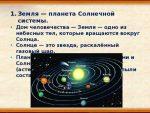 Схема солнечной системы подпишите орбиту и ось вращения земли – § 2. Земля — планета Солнечной системы. География 6 класс Герасимова